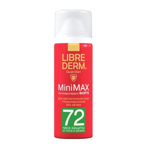 Либридерм Антиперспирант Форте Minimax 72 часа (Спрей 50 мл) (Librederm)