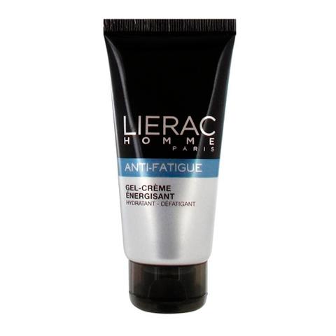 Лиерак Гель-крем для усталой кожи восстанавливающий увлажняющий для мужчин (Туба 50 мл)Уход за кожей и волосами<br>Lierac Homme Anti-Fatigue Gel-Cr?me Energisant (Лиерак Гель-крем для усталой кожи восстанавливающий увлажняющий для мужчин) для кожи всех типов.<br>Гель-крем с приятной легкой текстурой и бодрящим ароматом освежает, смягчает, увлажняет и разглаживает кожу. Оптическая система маскирует мелкие дефекты и устраняет признаки усталости. Лицо выглядит свежим, отдохнувшим.<br>Активные компоненты:<br>комплекс SKINPOWERстимулирует обновление клеток, насыщая их минералами и микроэлементами;<br>экстракт женьшеня – антиоксидант, восстанавливает кожу;<br>экстракт эвглены (микроводоросли)укрепляет, повышает эластичность и упругость, омолаживает кожу, стирает следы стресса и усталости;<br>ментолуспокаивает, охлаждает и освежает, сокращает поры, снижает секрецию кожного сала;<br>кофеинтонизирует, ускоряет обменные процессы, устраняет отеки;<br>светоотражающие перламутровые частицыоптически выравнивают рельеф, придают коже здоровое сияние.<br><br>Объем мл: 50<br>Тип кожи: всех типов