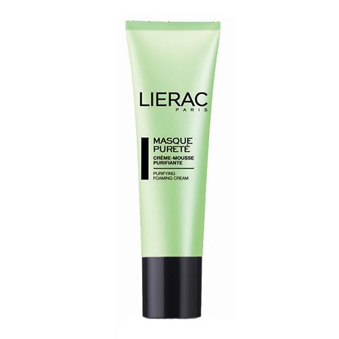 Лиерак Маска очищающая (Туба 50 мл)Маски для лица<br>Lierac Purifying foaming cream - mask (Лиерак Маска очищающая) для  жирной, нормальной, комбинированной кожи.<br>Кремообразная маскана основе зеленой глины, чьи косметические и терапевтические ?свойства известныдавно. Очищающая маска мгновенно сужает поры, матирует кожу и придает свежесть.  Средство обладает разогревающим эффектом - способствует лучшему очищению пор.<br>В состав входит:<br>?Зеленая глина - благодаря своим абсорбирующим свойствам очищает кожу лица;<br>Абсорбент каолина- регулируетвыделение кожного жираи уменьшает блеск;<br>Экстракт лайма - очищает и закрывает поры, освежает;<br>Экстракт бадьяна - оказывает антибактериальное и противовоспалительное действие.<br><br>Объем мл: 50<br>Тип кожи: жирной, комбинированной, нормальной