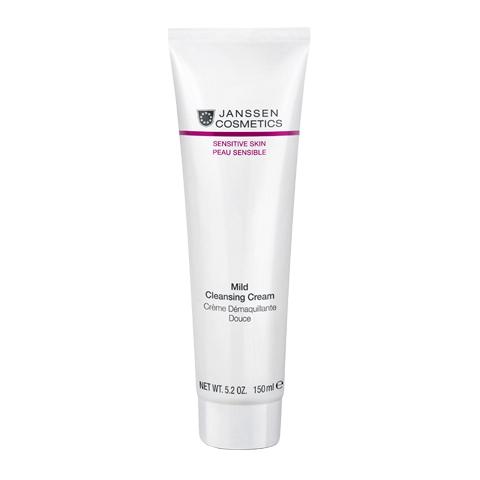 крем Janssen Янсен Крем деликатный очищающий для чувствительной кожи (Туба 150 мл)  недорого