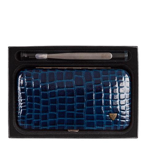 Зингер Набор маникюрный в прямоугольном корпусе синий (7 предметов)