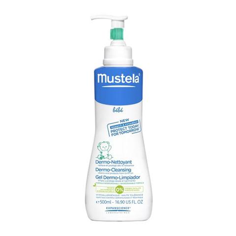 Мустела Бебе Гель для мытья для детей с первых дней жизни (Флакон с дозатором 500 мл) (Mustela)