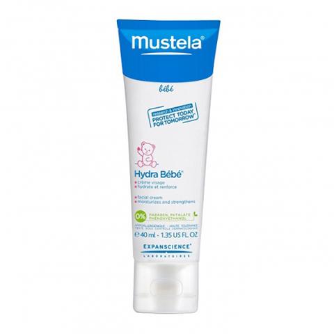 Мустела Бебе Гидра-Бебе Крем для лица увлажняющий детский (Туба 40 мл) (Mustela)