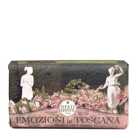 мыло Nesti Dante Нести Данте Эмоции Тосканы Мыло Цветущий сад (Плитка 250 г) мыло nesti dante нести данте каролина и эдуардо мыло туалетное деликатное плитка 250 г