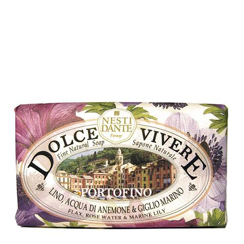 мыло Nesti Dante Нести Данте Сладкая жизнь Мыло Портофино (Плитка 250 г) nesti dante мыло сладкая жизнь капри 250 гр