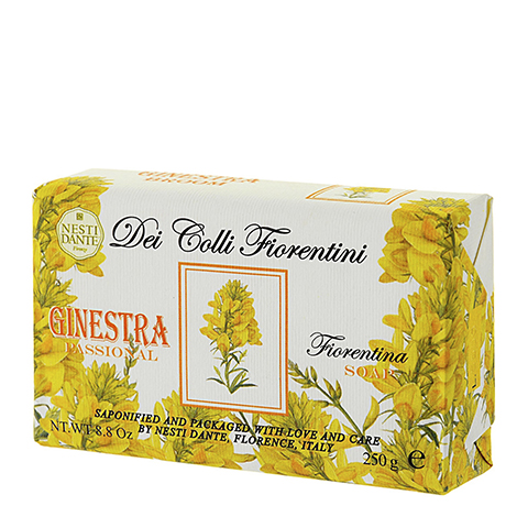 мыло Nesti Dante Нести Данте Высоты Флоренции Мыло Дрок (Плитка 250 г) nesti dante мыло bionatura масло аргании и альпийские травы 250 г