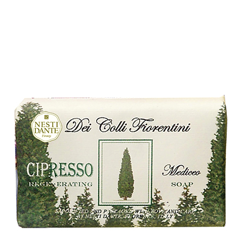 мыло Nesti Dante Нести Данте Высоты Флоренции Мыло Кипарис (Плитка 250 г) nesti dante мыло дрок dei colli fiorentini 250 гр мыло дрок dei colli fiorentini 250 гр 250 гр