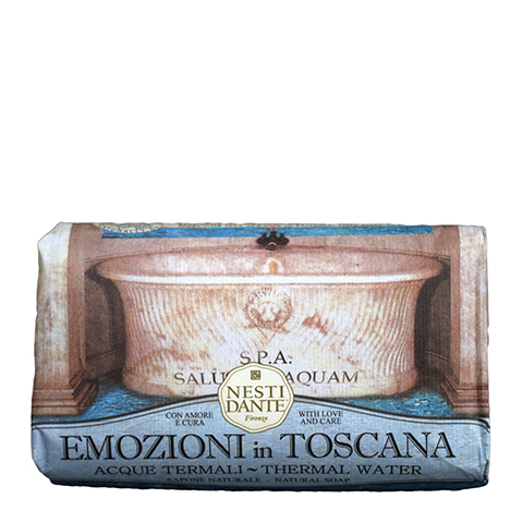 мыло Nesti Dante Нести Данте Эмоции Тосканы Мыло Термальные источники (Плитка 250 г) nesti dante мыло horto botanico огурец 250 г
