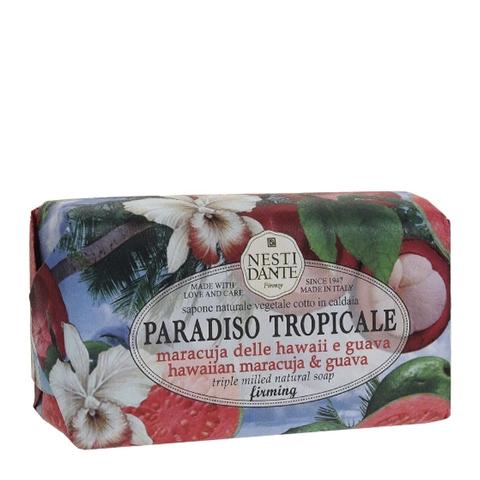 мыло Nesti Dante Нести Данте Тропический рай Мыло туалетное Гуава и Маракуйя (Плитка 250 г) мыло nesti dante нести данте каролина и эдуардо мыло туалетное деликатное плитка 250 г