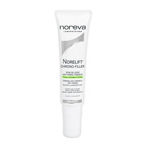Норева Норелифт Хроно-филлер Крем дневной укрепляющий против морщин для смешанной кожи (Туба с дозатором 30 мл) (Noreva)