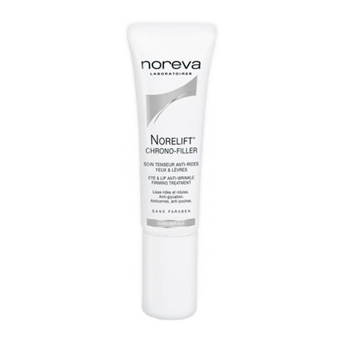 Норева Норелифт Хроно-филлер Крем укрепляющий для ухода за контуром глаз и губ (Тюбик 10 мл) (Noreva)