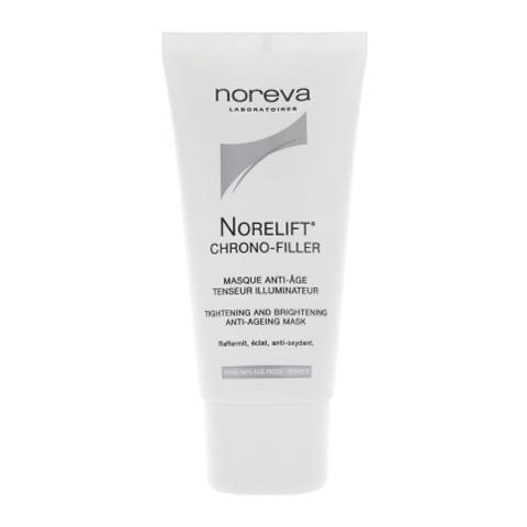 маска Noreva Норева Норелифт Хроно-филлер Маска антивозрастная подтягивающая, придающая коже сияние (Туба 50 мл)