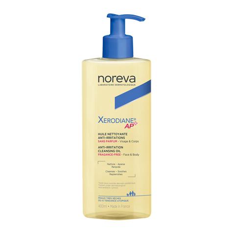 масло Noreva Норева Ксеродиан АР+ Масло очищающее липидовосстанавливающее (Флакон с помпой 400 мл)