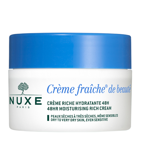 крем Nuxe Нюкс Крем Фреш де Ботэ Крем насыщенный увлажняющий 48 часов (Банка 50 мл) embryolisse crème riche hydratante объем 50 мл