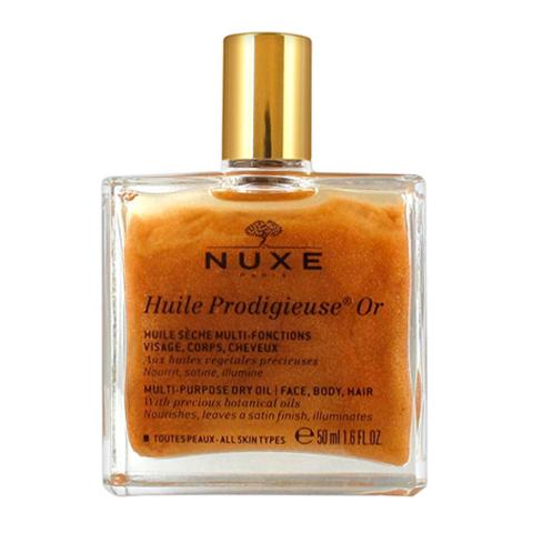 Нюкс Продижьёз Масло золотое Новая формула (Флакон 50 мл) (Nuxe)