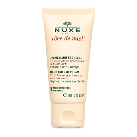 крем Nuxe Нюкс Рэв Де Мьель Крем для рук и ногтей (Туба 50 мл) nuxe рэв де мьель ночной крем для лица восстанавливающий комфорт