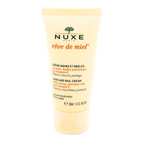 крем Nuxe Нюкс Рэв Де Мьель Крем для рук и ногтей (Туба 50 мл) nuxe нюкс сан крем для лица с высокой степенью защиты spf 50 туба 50 мл