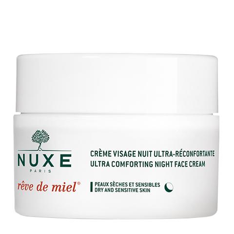 крем Nuxe Нюкс Рэв Де Мьель Ночной крем для лица, восстанавливающий комфорт (Банка 50 мл) nuxe рэв де мьель ночной крем для лица восстанавливающий комфорт