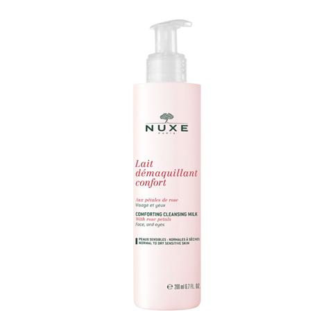 Нюкс Молочко-комфорт очищающее с лепестками роз <b>Nuxe</b> ...