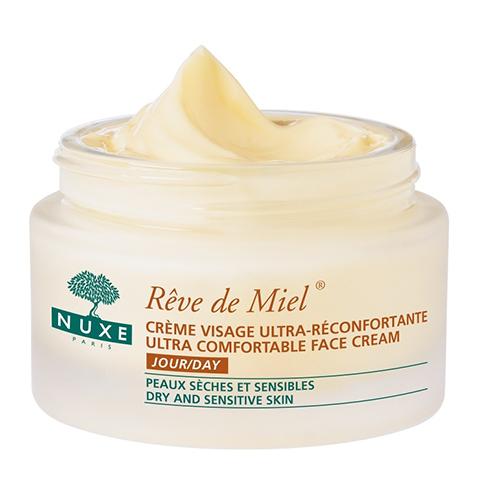 Нюкс Рэв Де Мьель Дневной крем для лица, восстанавливающий комфорт (Банка 50 мл) (Nuxe)