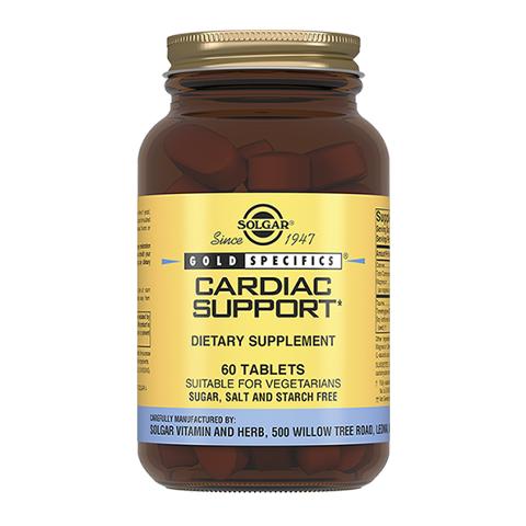 добавка пищевая Solgar Солгар Кардио Саппорт плюс (60 таблеток) экстракт грибов рейши шиитаке и мейтаке solgar 50 капсул