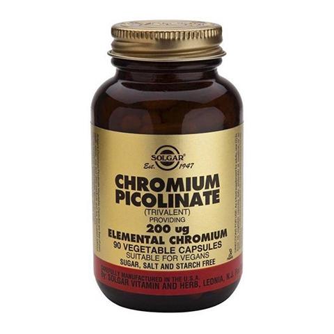добавка пищевая Solgar Солгар Пиколинат хрома (90 капсул) солгар витамин с 500мг с малиновым вкусом 90 таблетки
