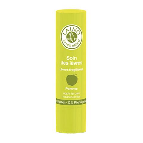 Лено Бальзам-стик для губ Яблоко (Стик 4 г)Идеи подарка<br>Бальзам для губ великолепно восстанавливает, питает и увлажняет сухую, уязвимую кожу губ благодаря высокому содержанию экстракта календулы. Обладает регенерирующими свойствами. Защищает от неблагоприятного воздействия солнечных лучей.<br>Приятный аромат доставит удовольствие в процессе ухода.<br><br>Тип кожи: всех типов, сухой, чувствительной