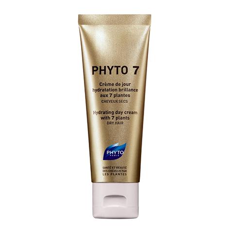 Фито Фито 7 Крем - уход для ежедневного применения (Туба 50 мл)Маски для волос<br>Фито 7 - эффективный уход за волосами для ежедневного использования.<br>Средство с уникальным составом длительным действием, Фито 7 соединяет в маслянистой консистенции крема экстракты 7 растений, выбранных за их увлажняющие и восстанавливающие свойства. Это 100% растительный состав.<br>Деликатный, нежирный крем укрепляет естественные защитные механизмы сухих волос, сохраняя оптимальный уровень увлажнения.<br>Не утяжеляет волосы, сохраняет укладку. Облегчает расчесывание.<br><br>Объем мл: 50<br>Тип кожи: сухой
