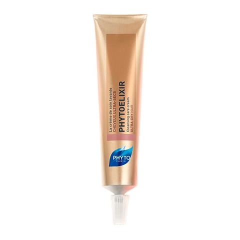 Фито Фитоэликсир Крем-уход очищающий (Туба 75 мл)Уход за волосами<br>Phyto Phytoelixir Cleansing Care Cream (Фито Фитоэликсир Крем-уход очищающий) для сухих и очень сухих волос. <br>Крем Phyto Phytoelixir Cleansing Care Cream не содержит вспенивающих поверхностно-активных веществ, поэтому мягко очищает волосы и кожу головы, не пересушивает их. Насыщенный питательными и увлажняющими растительными компонентами крем-уход восстанавливает гидролипидную пленку, делает волосы шелковистыми, мягкими и послушными. С каждым применением они становятся все более красивыми и здоровыми. Phyto Phytoelixir Cleansing Care Cream используется попеременно с шампунем.<br>Активные компоненты: <br> эфирный воск цветков нарцисса  питает, увлажняет, глубоко проникает в структуру волос, смягчает; <br>масло макадамии интенсивно питает, восстанавливает, защищает, делает волосы мягкими, блестящими; <br>экстракт куколя разглаживает и восстанавливает волосы.<br><br>Объем мл: 75<br>Тип кожи: сухой