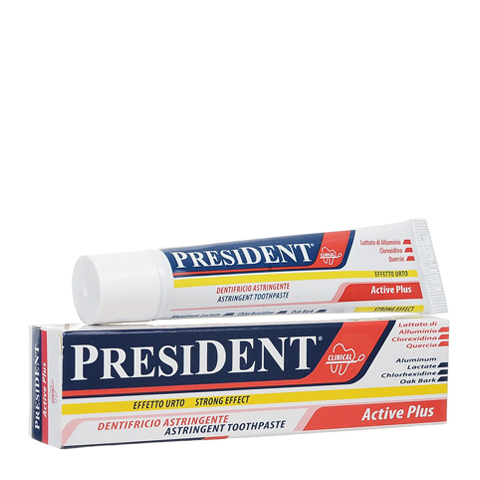 зубная паста PresiDENT PresiDENT Зубная паста Active Plus (Туба 30 мл) паста лассара салицилово цинковая в омске