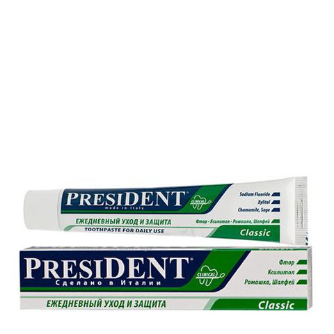 зубная паста PresiDENT PresiDENT Зубная паста Classic (Туба 100 мл)