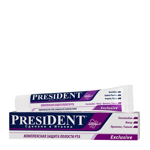 зубная паста PresiDENT PresiDENT Зубная паста Exclusive (Туба 50 мл) зубная паста