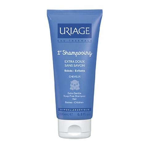 Урьяж Первый Шампунь ультрамягкий без мыла (Туба 200 мл)Для детей<br>Первыйшампуньразработан специально для ежедневного безопасного ухода за нежной кожейголовы и волосноворожденных и маленьких детей.<br>деликатноеочищениекожи головы и волос<br>волосымалыша гладкие ине путаются<br>высокая степень переносимости<br>физиологическийкислотно-щелочной баланс<br>?91% родителей полностью удовлетворенырезультатом применения первогошампуня*<br>*?исследованиепроведено среди 22 детей под контролем специалистовУрьяж.<br><br>Объем мл: 200<br>Тип кожи: всех типов, чувствительной