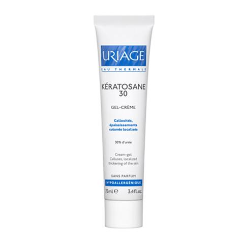 Урьяж Кератозан 30 Гель для локализованных утолщений кожи (Туба 75 мл) (Uriage)
