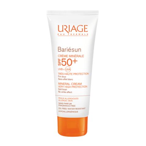 Урьяж Барьесан Крем минеральный SPF50+ (Туба 50 мл) (Uriage)
