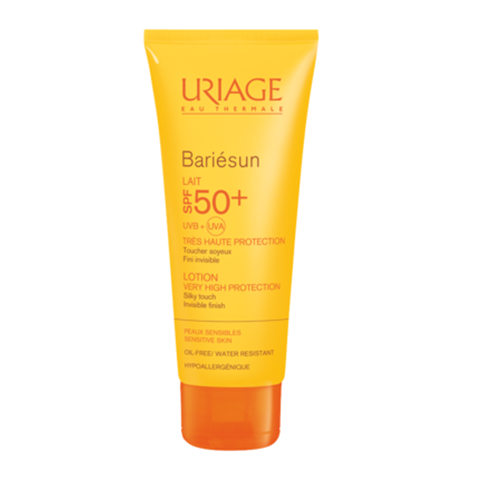 Урьяж Барьесан Молочко солнцезащитное SPF50+ (Туба 100 мл) (Uriage)