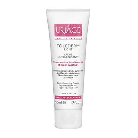Урьяж Толедерм Риш Крем питательный успокаивающий для сухой кожи (Туба 50 мл) (Uriage)