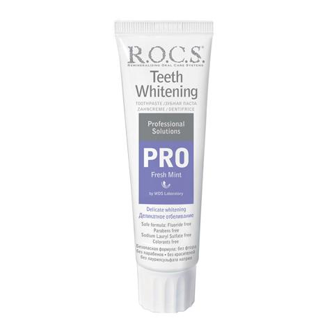 зубная паста R.O.C.S. R.O.C.S. Зубная паста PRO Fresh Mint Деликатное отбеливание (Туба 135 г)