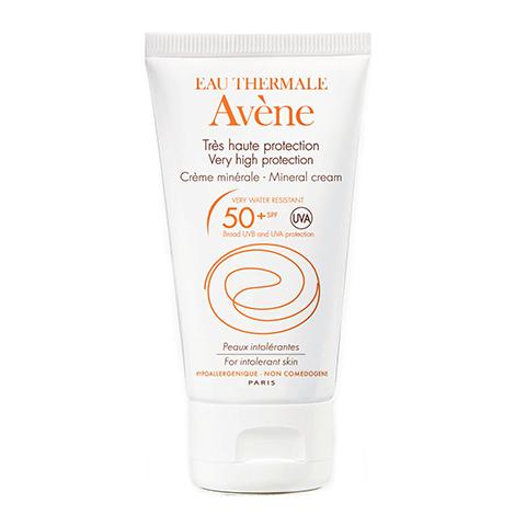крем Avene Авен Крем солнцезащитный с минеральным экраном SPF 50+ (Туба 50 мл) beautymed солнцезащитный крем spf 30 beautymed 50 мл