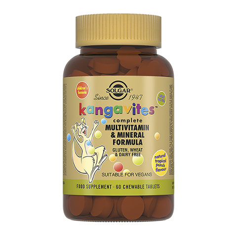 добавка пищевая Solgar Солгар Кангавитес с мультивитаминами и минералами (60 таблеток) solgar витамин с 500 с малиновым вкусом 90 таблеток витамины