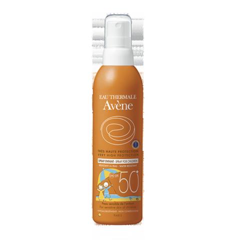 Авен  Детский спрей солнцезащитный SPF 50+ (Флакон 200 мл) (Avene)