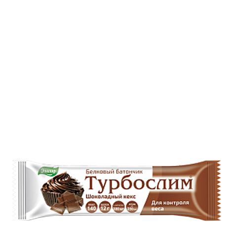 добавка пищевая Турбослим Турбослим Батончик белковый Шоколадный кекс (50 г) добавка пищевая турбослим турбослим батончик для похудения белковый 4 штуки по 50 г