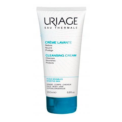 Урьяж Крем очищающий пенящийся  (Туба 200 мл)Очищение кожи лица<br>Пенящийся крем мягко очищает, увлажняет и успокаивает кожу. Не нарушает целостность гидролипидной плёнки. Легкий нежный крем не раздражает слизистые оболочки глаз («без слёз») делает кожу мягкой и эластичной обладает приятным ароматом.<br>Гипоаллергенно. Некомедогенно.<br><br>Объем мл: 200<br>Тип кожи: всех типов, чувствительной