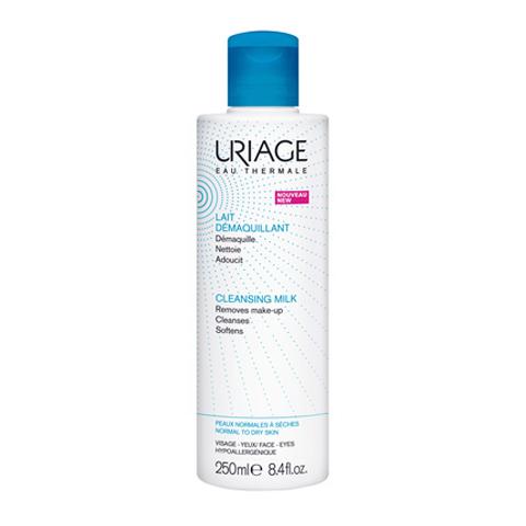 молочко Uriage Урьяж Молочко для снятия макияжа очищающее (Флакон 250 мл) payot очищающее мицеллярное молочко для всех типов кожи очищающее мицеллярное молочко для всех типов кожи