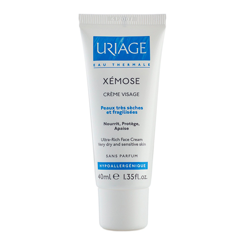 Урьяж Ксемоз Крем для лица (Туба 40 мл) (Uriage)