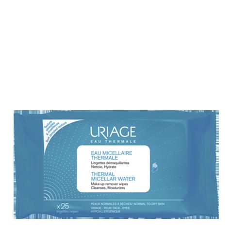 Uriage Урьяж Салфетки с очищающей мицеллярной водой 25 штук (25 штук) uriage урьяж салфетки с очищающей мицеллярной водой 25 штук 25 штук