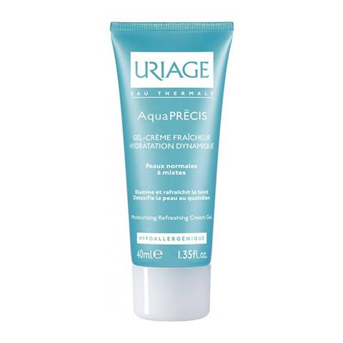 Урьяж Аквапреси Гель-крем освежающий для нормальной и смешанной кожи (Туба 40 мл) (Uriage)