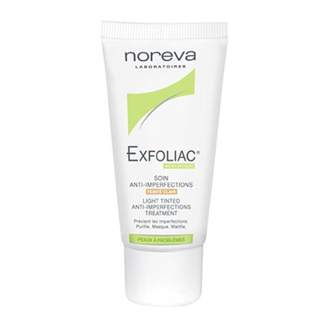 Норева Эксфолиак Тональный крем для проблемной кожи (Туба 30 мл, светлый)Уход за лицом<br>Крем прекрасно корректирует недостатки, объединяя лечебный и тональный уход.<br>Оказывает противовоспалительное, антигистаминное, антирадикальное действие. Обладает антимикробной активностью, восстанавливает и укрепляет кожу. Снижает пролиферацию бактерий и регулирует выделение себума, проявляет успокаивающее действие - ваша кожа больше держится матовой.   <br>Клинически протестировано дерматологами. Не обладает фотосенсибилизирующим действием.<br>Не содержит ароматизаторов и парабенов. Некомедогенно.<br><br>Цвет: светлый<br>Объем мл: 30<br>Тип кожи: комбинированной, проблемной