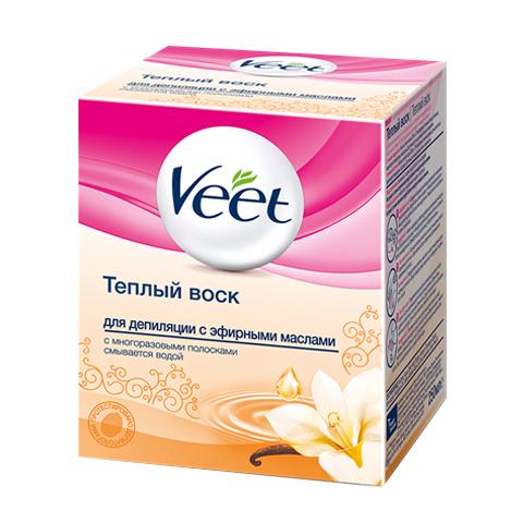 воск Veet Veet Воск теплый для депиляции с эфирными маслами