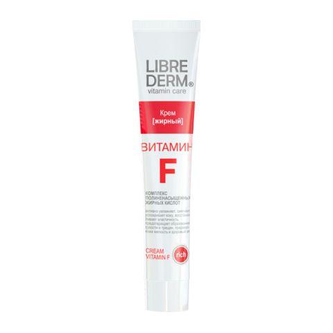 Либридерм Витамин F Крем жирный (Туба 50 мл) (Librederm)